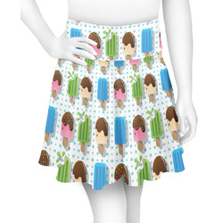 Popsicles and Polka Dots Skater Skirt (Personalized)