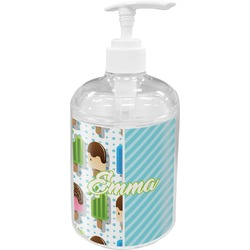Popsicles and Polka Dots Soap / Lotion Dispenser (Personalized)