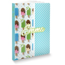 Popsicles and Polka Dots Softbound Notebook (Personalized)