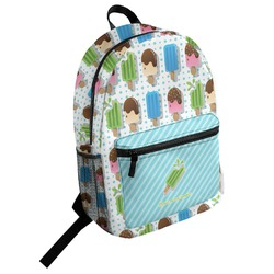 Popsicles and Polka Dots Student Backpack (Personalized)