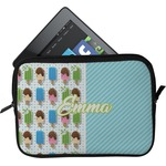 Popsicles and Polka Dots Tablet Case / Sleeve (Personalized)