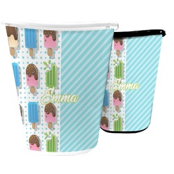Popsicles and Polka Dots Waste Basket (Personalized)