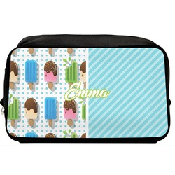 Popsicles and Polka Dots Toiletry Bag / Dopp Kit (Personalized)