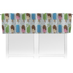 Popsicles and Polka Dots Valance (Personalized)