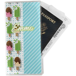 Popsicles and Polka Dots Travel Document Holder