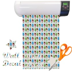Popsicles and Polka Dots Vinyl Sheet (Re-position-able)