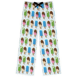 Popsicles and Polka Dots Womens Pajama Pants (Personalized)