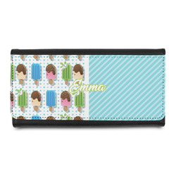 Popsicles and Polka Dots Leatherette Ladies Wallet (Personalized)