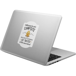 Camping Quotes & Sayings Laptop Decal