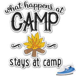 Camping Sayings & Quotes (Color) Graphic Iron On Transfer