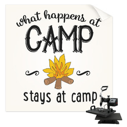 Camping Sayings & Quotes (Color) Sublimation Transfer