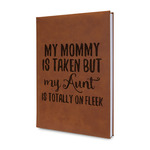 Aunt Quotes and Sayings Leatherette Journal (Personalized)