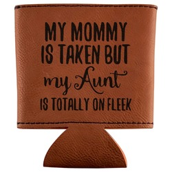 Aunt Quotes and Sayings Leatherette Can Sleeve (Personalized)