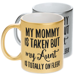 Aunt Quotes and Sayings Metallic Mug