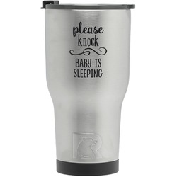 Baby Quotes RTIC Tumbler - Silver (Personalized)