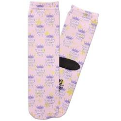 Birthday Princess Adult Crew Socks (Personalized)