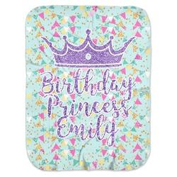 Birthday Princess Baby Swaddling Blanket (Personalized)