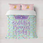 Birthday Princess Duvet Covers (Personalized)