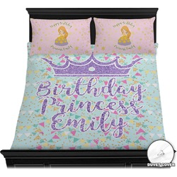 Birthday Princess Duvet Cover Set (Personalized)