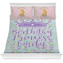 Birthday Princess Comforter Set (Personalized)