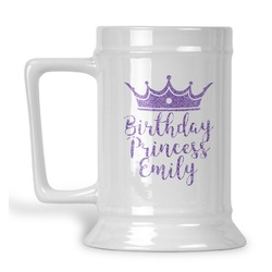 Birthday Princess Beer Stein (Personalized)