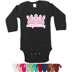 Birthday Princess Bodysuit - Long Sleeves - 0-3 months (Personalized)