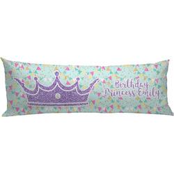 Birthday Princess Body Pillow Case (Personalized)
