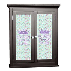 Birthday Princess Cabinet Decal - Large (Personalized)
