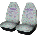 Birthday Princess Car Seat Covers (Set of Two) (Personalized)