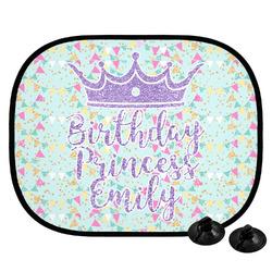 Birthday Princess Car Side Window Sun Shade (Personalized)
