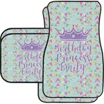 Birthday Princess Car Floor Mats (Personalized)