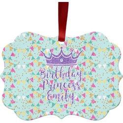 Birthday Princess Ornament (Personalized)