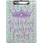 Birthday Princess Clipboard (Personalized)