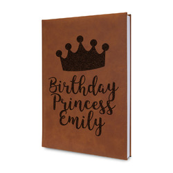 Birthday Princess Leatherette Journal (Personalized)