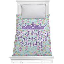 Birthday Princess Comforter - Twin (Personalized)