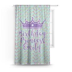 Birthday Princess Curtain (Personalized)