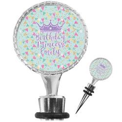 Birthday Princess Wine Bottle Stopper (Personalized)