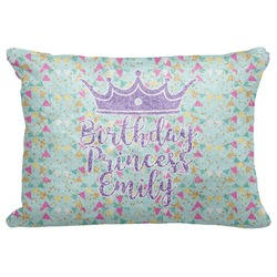 "Birthday Princess Decorative Baby Pillowcase - 16""x12"" (Personalized)"