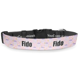 """Birthday Princess Deluxe Dog Collar - Small (8.5"""" to 12.5"""") (Personalized)"""