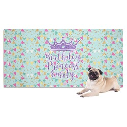 Birthday Princess Dog Towel (Personalized)