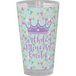 Birthday Princess Drinking / Pint Glass (Personalized)