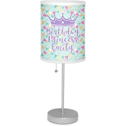 "Birthday Princess 7"" Drum Lamp with Shade (Personalized)"