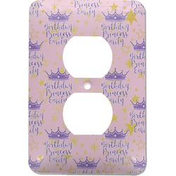 Birthday Princess Electric Outlet Plate (Personalized)