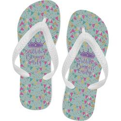 Birthday Princess Flip Flops (Personalized)