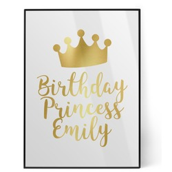 Birthday Princess Foil Print (Personalized)