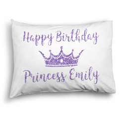 Birthday Princess Pillow Case - Standard - Graphic (Personalized)