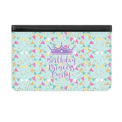 Birthday Princess Genuine Leather ID & Card Wallet - Slim Style (Personalized)