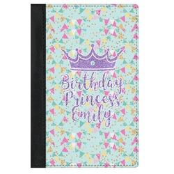 Birthday Princess Genuine Leather Passport Cover (Personalized)