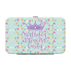 Birthday Princess Genuine Leather Small Framed Wallet (Personalized)