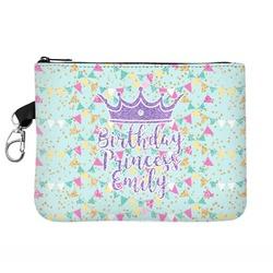 Birthday Princess Zip ID Case (Personalized)